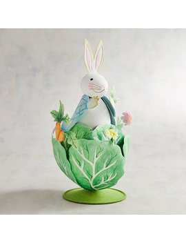 Glittered Bunny In The Cabbage by Pier1 Imports