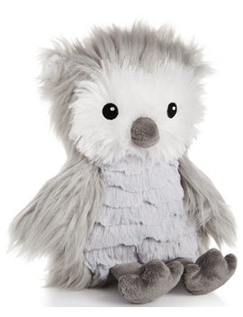 """8"""" Plush Owl, Baby Boys & Girls Created For Macy's by First Impressions"""