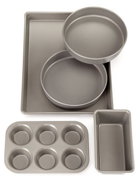 Pro 5 Pc. Nonstick Bakeware, Created For Macy's by Martha Stewart Collection