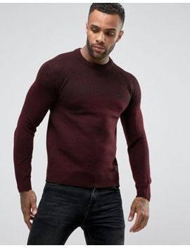 Threadbare Two Shade Textured Knit Jumper by Jumper