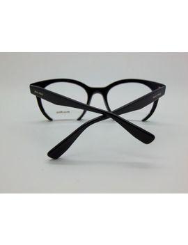 Authentic Miu Miu Vmu 09n 1ab 1o1 Shiny Black 50mm Rx Eyeglasses by Miu Miu
