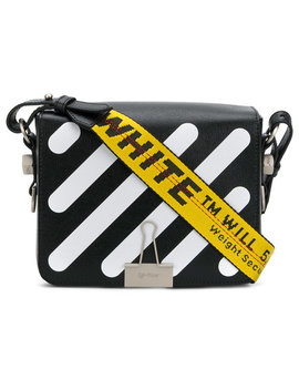 Striped Crossbody Bag by Off White