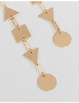 Asos Shape Strand Earrings by Asos Collection