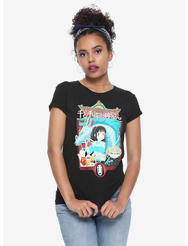 Her Universe Studio Ghibli Spirited Away Poster Girls T Shirt by Hot Topic