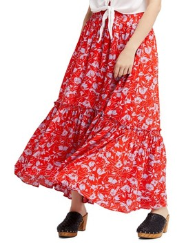 Way Of The Wind Print Maxi Dress by Free People
