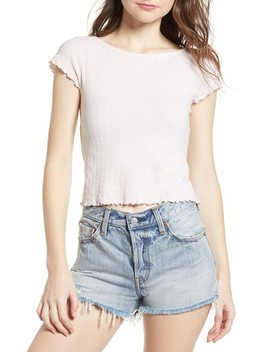 Lettuce Edge Crop Tee by Pst By Project Social T