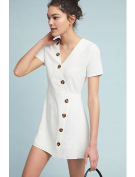 Petrie Buttoned Dress by Moon River