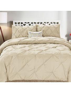 Swift Home Pintuck Comforter Set by Kohl's