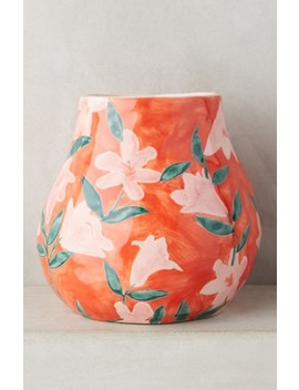 Welcome Spring Vase by Anthropologie