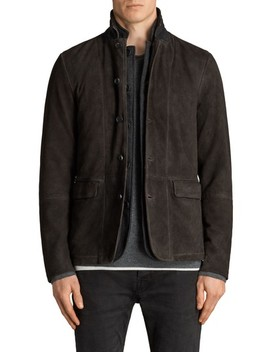 Survey Leather Blazer by Allsaints