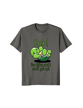 Help I've Fallen And I Can't Get Up Turtle Lovers T Shirt by Qtest Thing Ever
