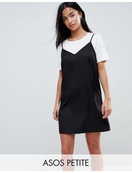 Asos Petite Mini Cami Slip Dress by Asos Petite
