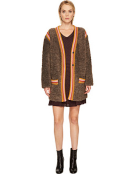 Knit Fur W/ Trim Jacket by M Missoni
