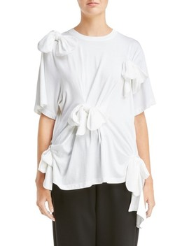 Turbo Bow Easy Tee by Simone Rocha