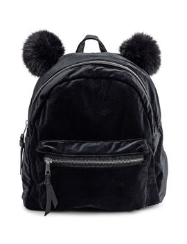 Velour Backpack by H&M