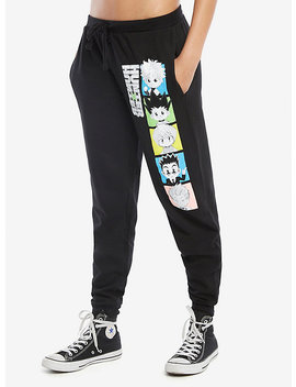 Hunter X Hunter Squares Girls Jogger Pants by Hot Topic