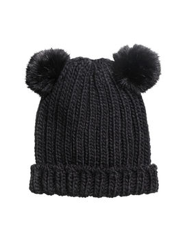 Hat With Pompoms by H&M