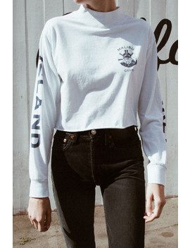 Andie Monkey Island Turtleneck Top by Brandy Melville