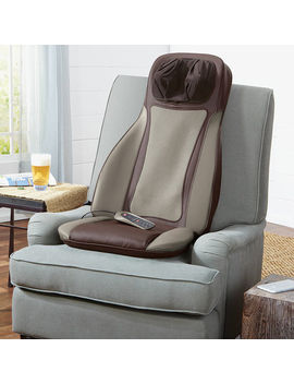 S6 Shiatsu Massaging Seat Topper by Brookstone