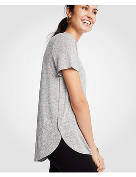 Marled Tunic Tee by Ann Taylor
