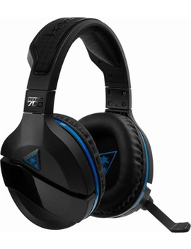 Stealth 700 Wireless Dts 7.1 Surround Sound Gaming Headset For Play Station 4 And Play Station 4 Pro   Black by Turtle Beach