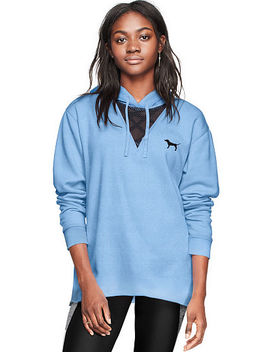 Campus High Low Mesh Pullover Tunic by Victoria's Secret