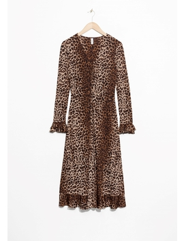 Leopard Print Midi Dress by & Other Stories