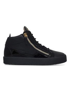 Kriss Patent Leather Trainers by Giuseppe Zanotti