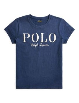 Polo Cotton Graphic T Shirt by Ralph Lauren