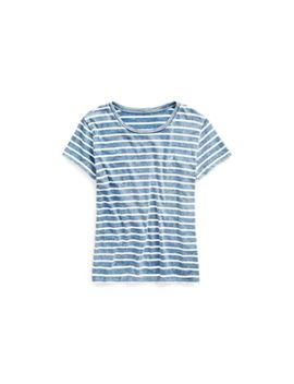 Striped Crewneck T Shirt by Ralph Lauren