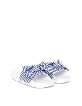 Slide Into The Dm's Striped Slider by Nasty Gal