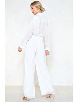 Jump To It Wide Leg Jumpsuit by Nasty Gal