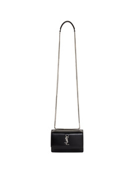 Black Sunset Monogram Chain Wallet Bag by Saint Laurent