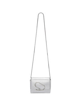 Silver Micro Alix Crossbody Bag by 3.1 Phillip Lim