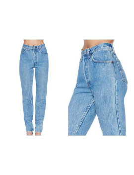 Vintage 80s High Waist Mom Jeans All Sizes by Etsy