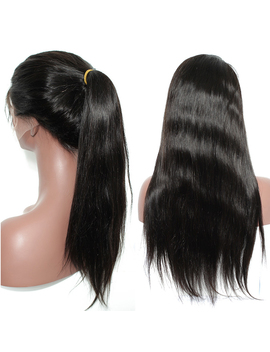 250 Density Brazilian Straight Silk Base Lace Front Human Hair Wigs For Women Silk Top Full Lace Human Hair Wigs Silk Based Wig  by Qingdao Wigs Store