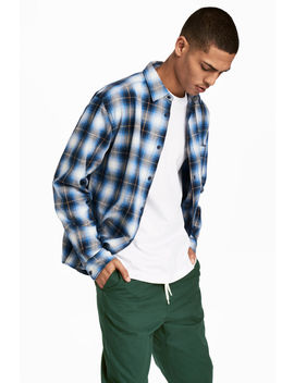 Slub Weave Shirt Regular Fit by H&M