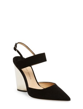 Pawson Pointy Toe Pump by Paul Andrew