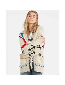 Cotton Boyfriend Cardigan by Ralph Lauren