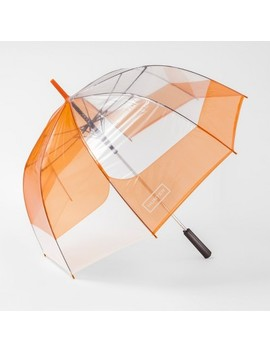 Hunter For Target Bubble Umbrella   Orange by Hunter For Target