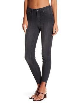 Frayed Hem Skinny Jeans by Melrose And Market