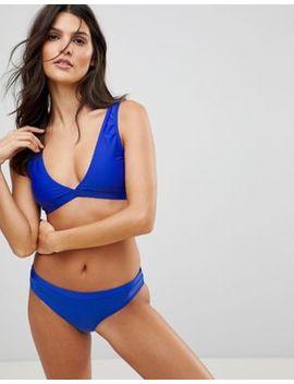 Brave Soul Plunge Neck Bikini Set by Bikini