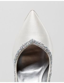 Asos Phoenix Wide Fit Bridal High Heels by Asos Collection