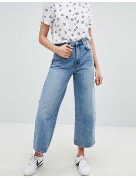 Pull&Bear Wide Leg Denim Jean by Pull&Bear