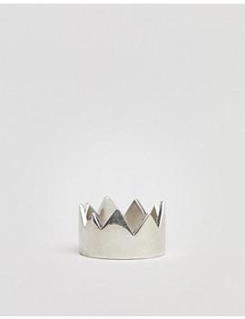 Serge De Nimes Crown Ring In Sterling Silver by Serge De Nimes