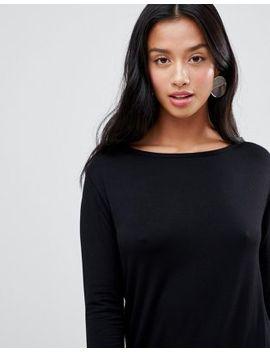 Boohoo Petite Long Sleeve T Shirt Dress by Boohoo
