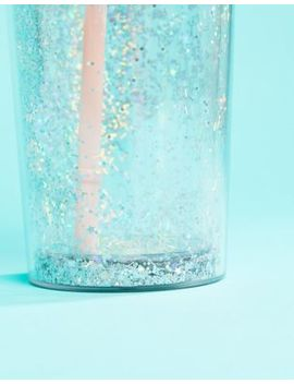 Ban.Do Glitter Water Bottle Tumbler With Straw by Ban.Do