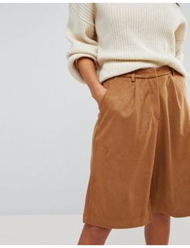 Glamorous Faux Suede Culottes by Glamorous