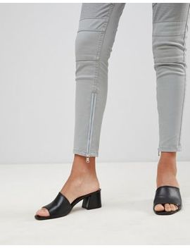 Glamorous Skinny Jeans With Zip Ankle Detail by Glamorous