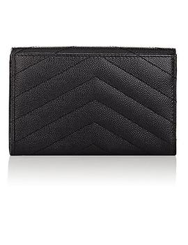Monogram Leather Small Wallet by Saint Laurent